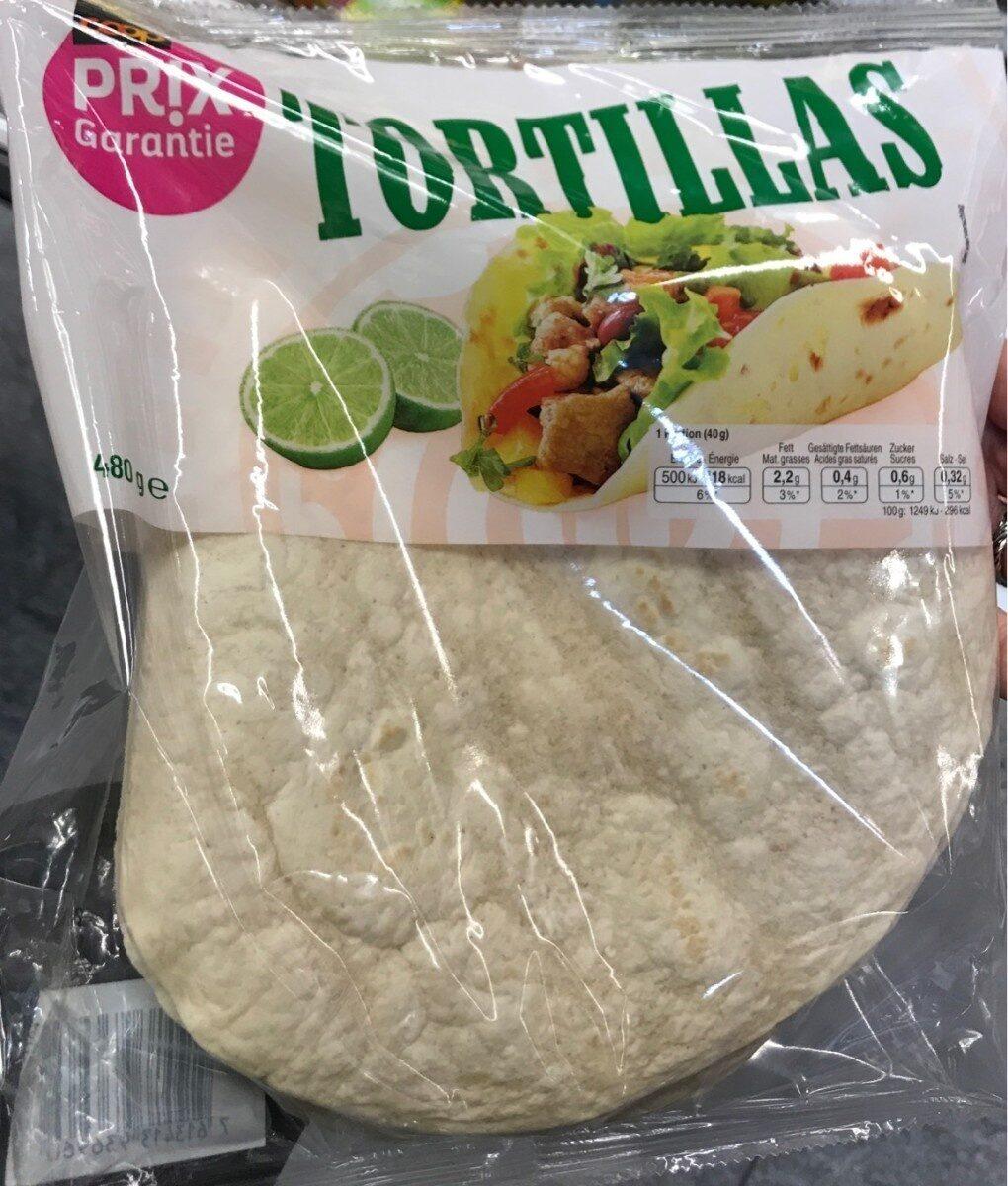 Tortillas - Prodotto - fr
