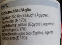 Ail en granulés - Ingredienti - fr