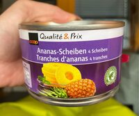 Tranches d'ananas - Valori nutrizionali - fr