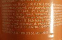 Ravioli aux oeufs - Inhaltsstoffe - fr