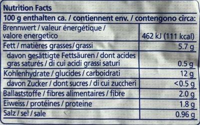 Rösti - Ingredienti - fr