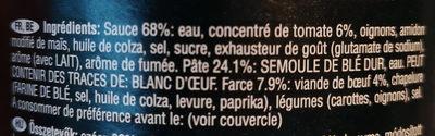 Ravioli - Ingrediënten