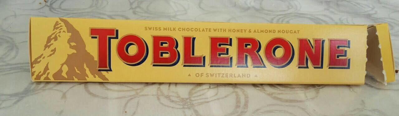 Toblerone - Prodotto - en