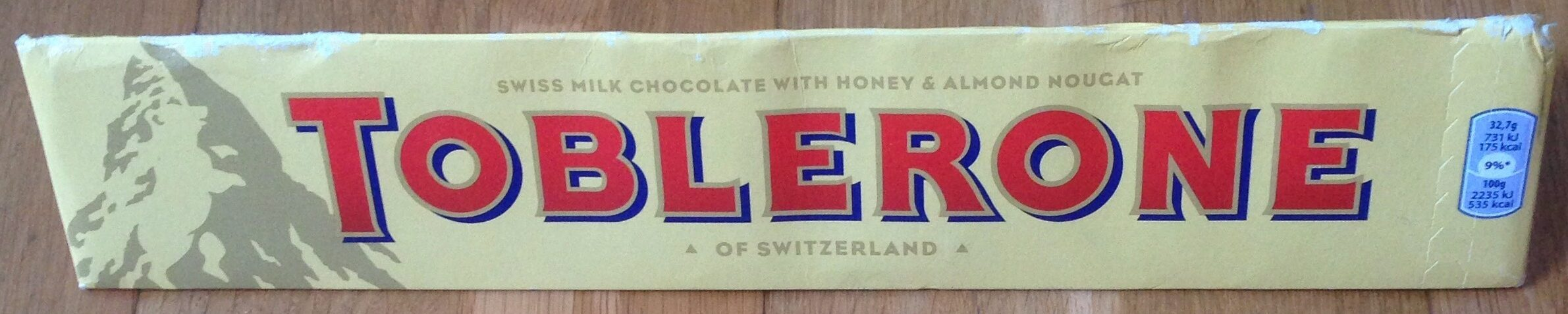 Milk Chocolate Bar - Produit