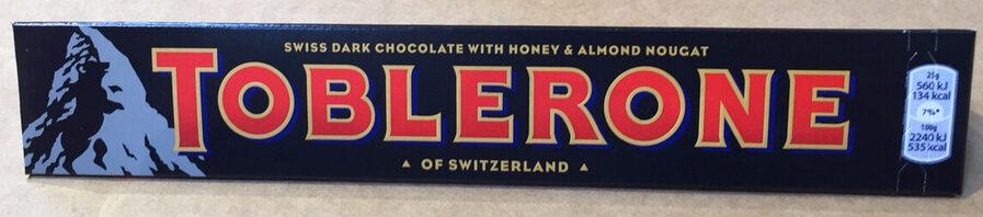Dark Chocolate Bar - Product - en