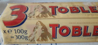 Pack 3X100G Toblerone Lait Suchard - Product