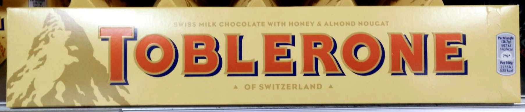 Toblerone - Product