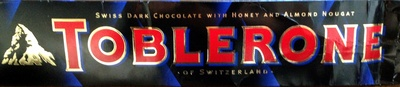 Toblerone chocolate bar dark - Product