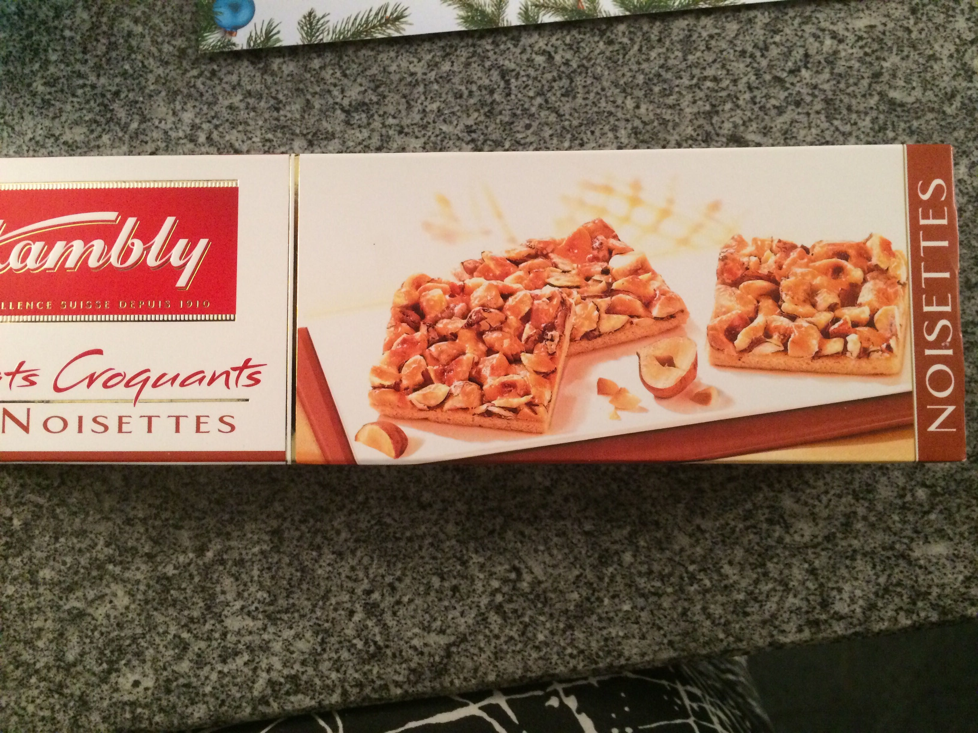 Kambly Biscuits With Caramel Almond Hazelnut - Product