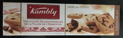 Sablés au chocolat au beurre frais de la vallée de l'Emmental - Product - fr