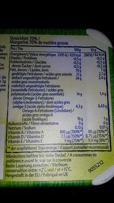Margarine 70% de M. G. - Produit - fr