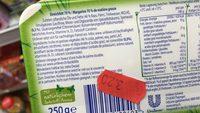 Margarine 70% de M. G. - Ingrédients - fr