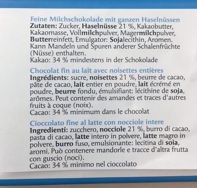 Noxana - Ingrédients - fr