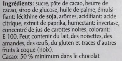 Les Adorables Cremetta - Ingrediënten