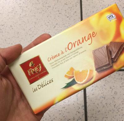 Les Délices Crème à L'orange - Produkt - fr