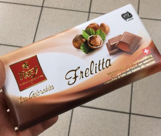Les Adorables Frelitta Chocolat au lait fourré aux noisettes - Product - fr
