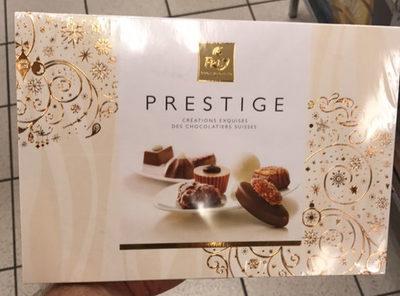 Prestige Chocolat Créations Exquises Des Chocolatiers Suisses - Produit