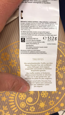 Truffes assorties - Product