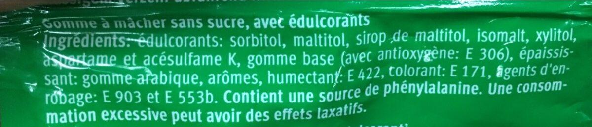 Skai Spearmint - Ingredients - fr
