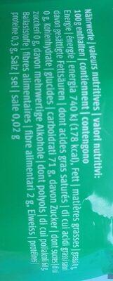 Skai Spearmint - Nutrition facts - fr
