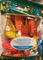 Chocolat noir fourré fondant sucré - Product - fr