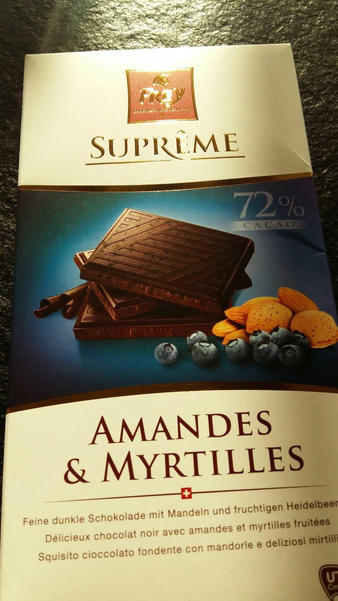 Supreme Amandes & Myrtilles - Product