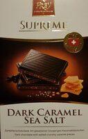 Dark Chocolate Caramel sea salt - Product - fr
