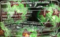 Freylini Pistachio - Informations nutritionnelles - fr