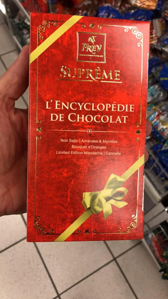 Suprème L'Encyclopédie de chocolat  Chocolat Assortis - Product