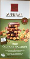 Milk chocolate with hazelnuts - Product