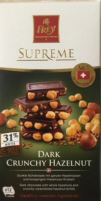 Dark crunchy hazelnut - Product - en