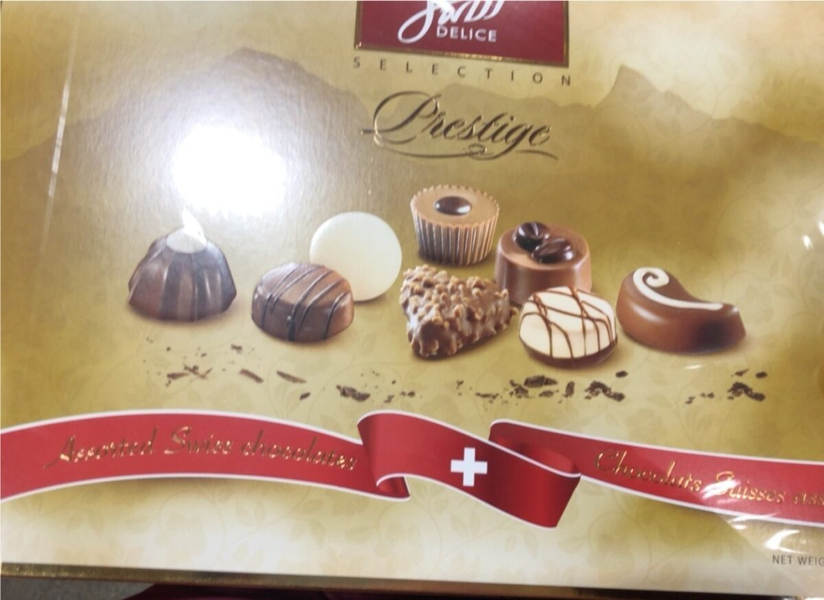 Chocolats suisses assortis - Product - fr