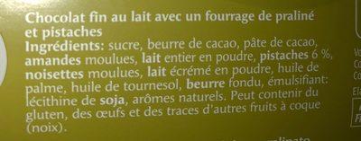 Les adorables pistache - Ingredients - fr