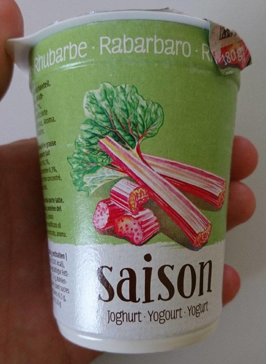 Saison Yogourt - Rhubarbe - Produit - fr
