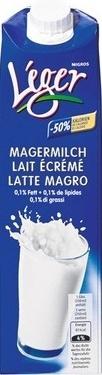 Milch UHT Léger - Produit