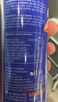 Demi-Crème Fouettée - Informations nutritionnelles - fr