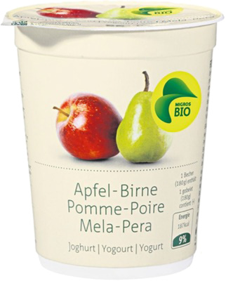 yogourt pomme poire BIO - Product - fr