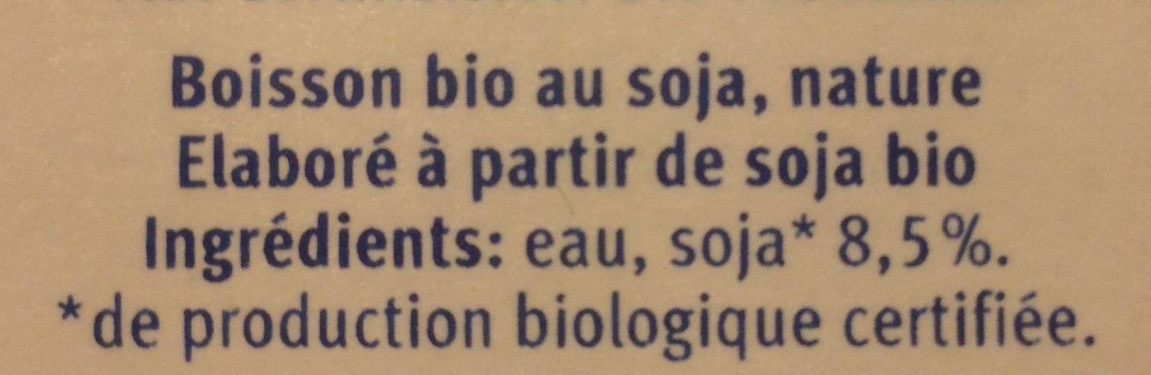 Drink Nature - Ingrediënten