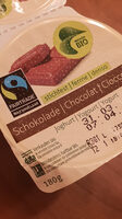 Yogourt ferme au chocolat - Nutrition facts