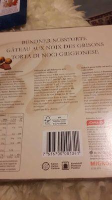 Gâteau Aux Noix Des Grisons - Produit - fr