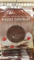 Biscuit Chocolat Fond de biscuit - Product - fr