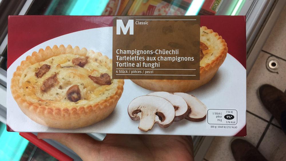 Tartelettes aux champignons - Produit - fr