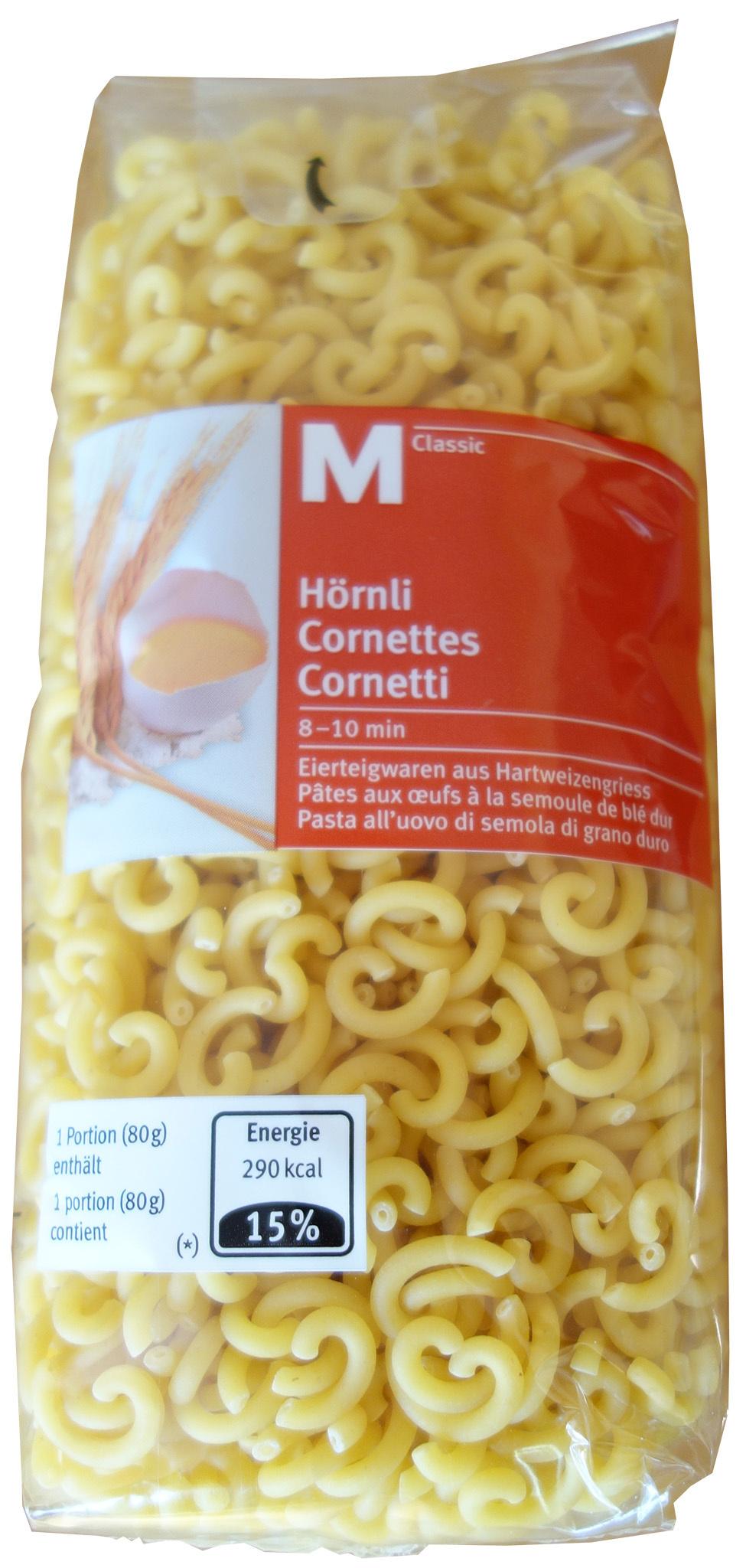 Cornettes M-Classic - Product