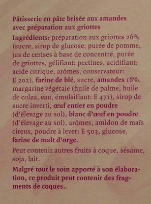 Migros Amarello Torte - Ingrédients - fr