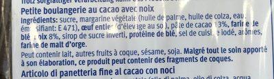 Brownies - Ingrédients - fr