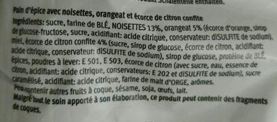 Weiche Leckerli - Ingrédients - fr