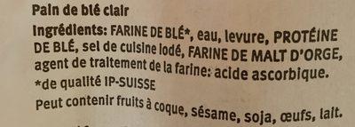 Couronne Croustillante - Ingrédients - fr