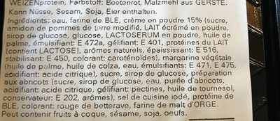 Millefeuille à la crème - Ingrediënten - fr