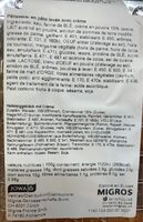 Creme Berliner - Valori nutrizionali - fr