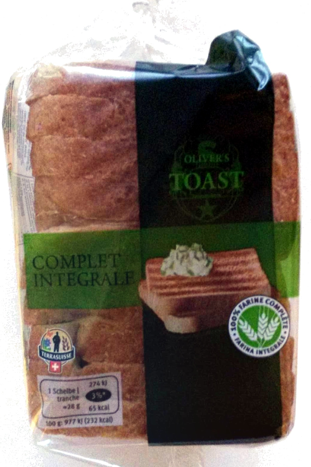Toast complet intégrale - Prodotto - fr